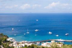 остров Италия capri 2 Стоковое Изображение RF