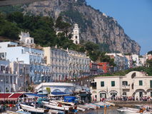 остров Италия capri Стоковые Изображения RF