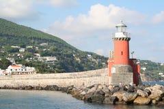 остров Италия ischia маяка Стоковое Изображение