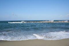 остров Италия ischia пляжа Стоковые Фото