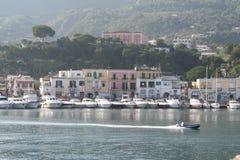 остров Италия ischia Стоковые Фото