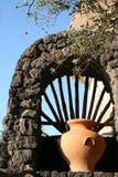 остров Италия ischia amphora Стоковое фото RF