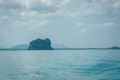 Остров и море в Thsiland Стоковая Фотография RF
