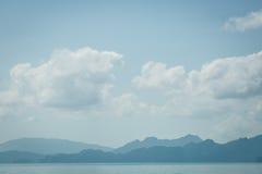 Остров и море в Thsiland Стоковые Изображения RF