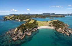 Остров и риф Urapukapuka Стоковые Изображения