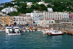 Остров Капри, Италия, Европа, залив Неаполь, стоковые фото