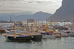 Остров Капри, Италия, Европа, залив Неаполь, стоковые фотографии rf