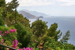 Остров Капри, Италия, Европа, залив Неаполь, стоковое фото