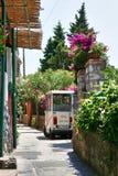 Остров Капри, Италия, Европа, залив Неаполь, Стоковое Изображение