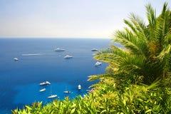 Остров Капри - Италия, Европа стоковые фото