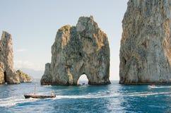Остров Капри, Италия, Европа Стоковые Изображения