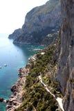 Остров Капри - Италия Стоковые Фото