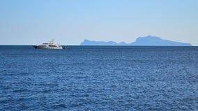 Остров Капри Стоковая Фотография RF