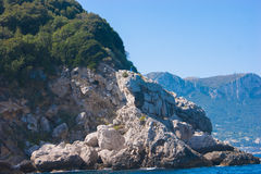 Остров Капри Стоковое Изображение RF