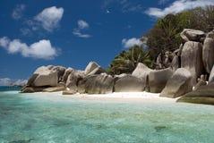 остров кокосов Стоковая Фотография