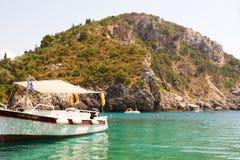 Остров Корфу, Греция стоковые изображения rf