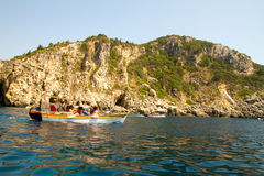 Остров Корфу, Греция стоковое фото rf