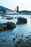 Остров Корфу на Греции Стоковое фото RF
