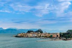 Остров Корфу стоковая фотография rf