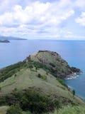 остров края Стоковые Изображения RF