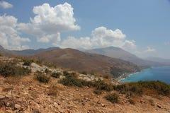 Остров Крита Стоковые Изображения RF