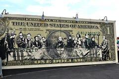 Остров кролика Нью-Йорк парка убежища искусства граффити Стоковые Фотографии RF