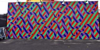 Остров кролика Нью-Йорк парка убежища искусства граффити Стоковые Изображения RF