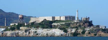 остров крупного плана alcatraz Стоковые Фотографии RF