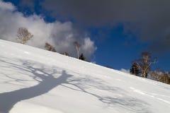 Остров-курорт лыжи Сахалина Стоковая Фотография RF