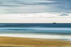 Остров Левиса, Шотландии, абстракции над seascapes через долгую выдержку стоковое фото rf