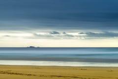 Остров Левиса, Шотландии, абстракции над seascapes через долгую выдержку стоковая фотография rf