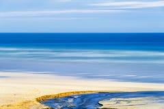 Остров Левиса, Шотландии, абстракции над seascapes через долгую выдержку стоковое фото