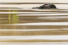 Остров Левиса, Шотландии, абстракции над seascapes через долгую выдержку стоковая фотография