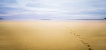 Остров Левиса, Шотландии, абстракции над seascapes через долгую выдержку стоковые фотографии rf