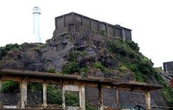 Остров линкора Gunkanjima в Нагасаки Японии Стоковое Фото