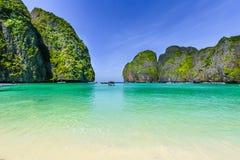 Остров Ли Phi Phi, провинция Krabi, море Andaman стоковое изображение