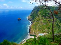 остров Мадейра Стоковые Изображения