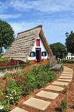 остров Мадейра santana города Стоковое Фото