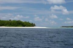 остров Мальдивы Стоковое Фото