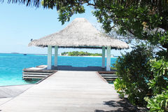 остров Мальдивы Стоковые Изображения