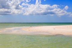 Остров медового месяца Стоковые Изображения RF