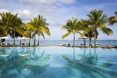 Остров медового месяца o тропический Маврикия Стоковое Изображение RF