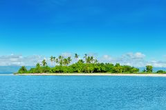 остров необжитый стоковые изображения