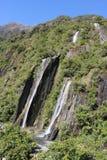 Остров Новая Зеландия водопадов заводи трёхзубца южный Стоковое Изображение