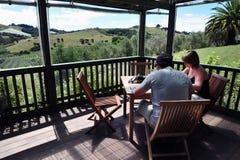 Остров Новая Зеландия Waiheke Стоковое Изображение