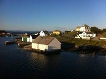 Остров Норвегия Fedje стоковое изображение rf