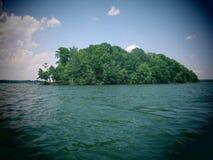 Остров Нормана озера Стоковое Изображение RF