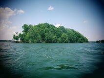 Остров Нормана озера Стоковая Фотография
