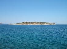 остров одичалый Стоковое Изображение