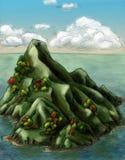 остров осени Стоковое фото RF